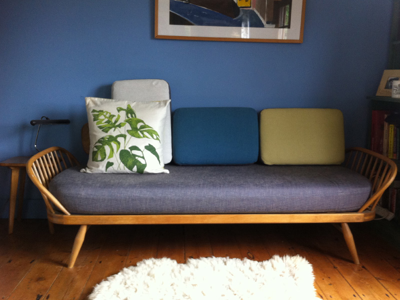 Reupholstered Classic Ercol